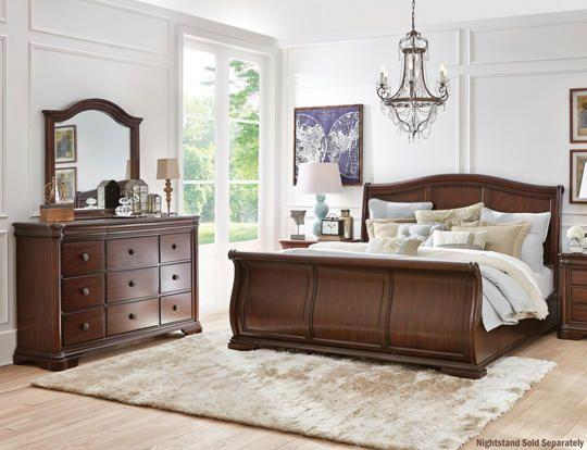 Rochelle Queen 3pc Bedroom Art Van Furniture Luxurious