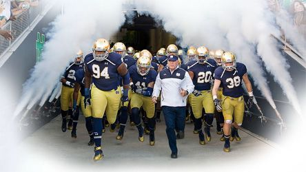 More Than Just A Game A Season With Notre Dame Football Notre