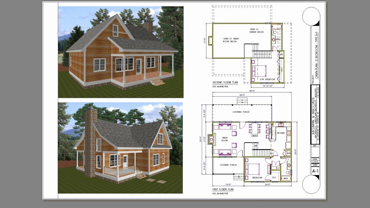 Two Bedroom Small House Plans New Small 2 Bedroom House Small 2 Bedroom Cabin Plans 4 One Bedroom House Plans Cottage Plan Cabin Plans With Loft