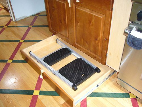 Toe Kick Step Stool Drawer Love It Especially Great For
