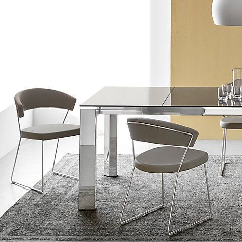 Connubia by Calligaris New York Dining Chair, Taupe | Chairs online ...