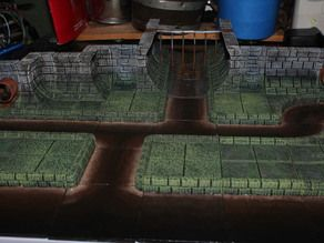 picture regarding 3d Printable Dungeon Tiles called dungeon tiles and these kinds of in direction of print 3D Prints DnD Tabletop