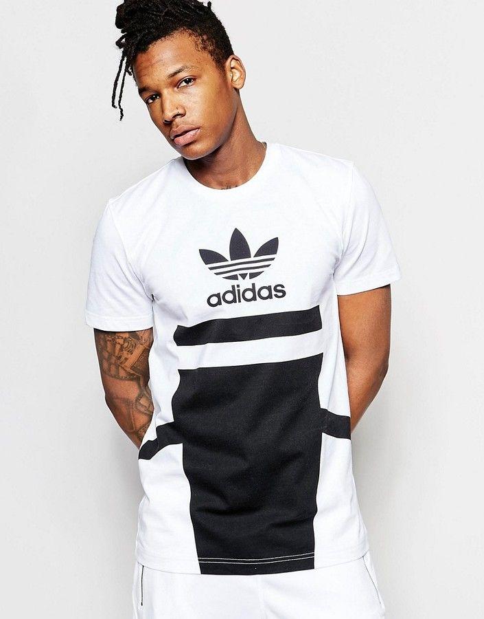 adidas Originals 'Bleached Out' Logo T Shirt B45880