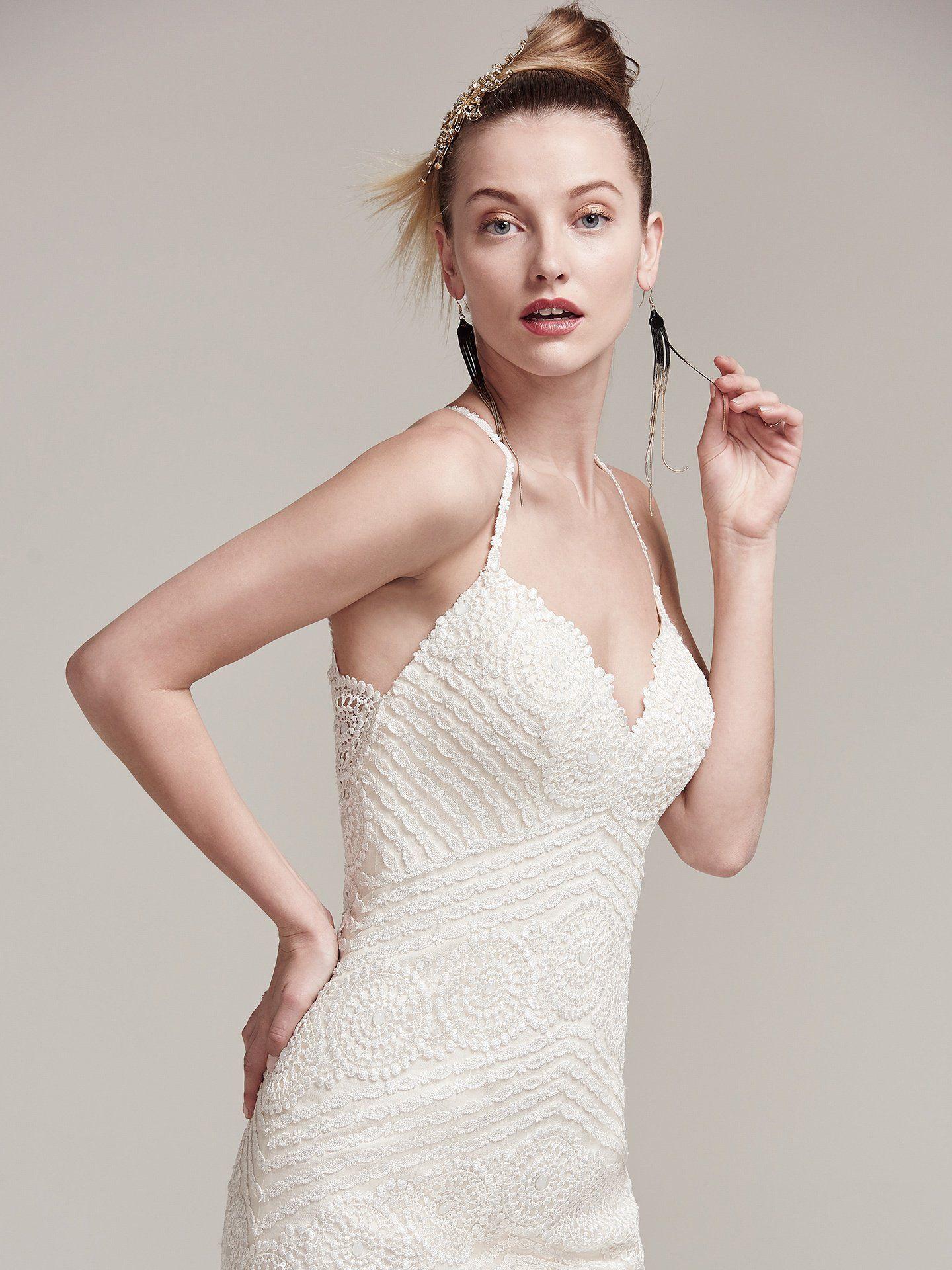 Beaded sheath wedding dress  Maggie Sottero Wedding Dresses  Gowns Wedding dress and Maggie sottero