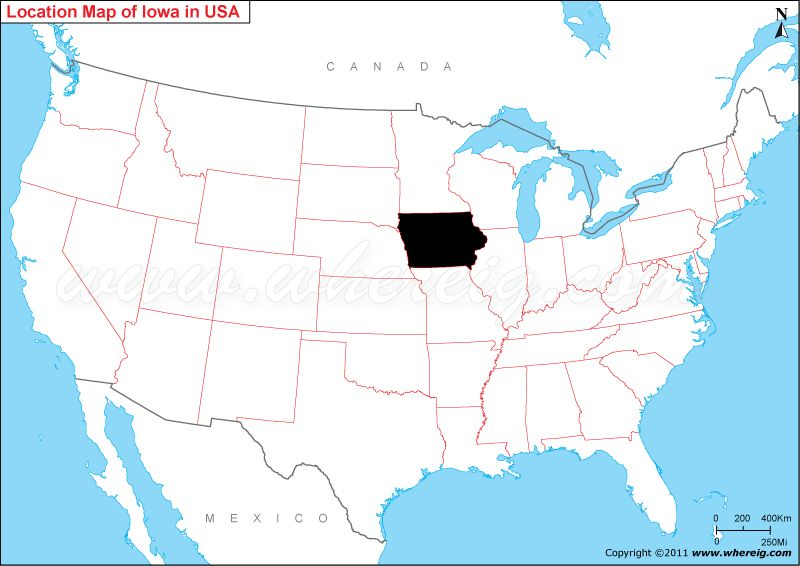 Where Is Iowa United States US Pinterest Iowa And Minnesota - A map of the us showing minnesota