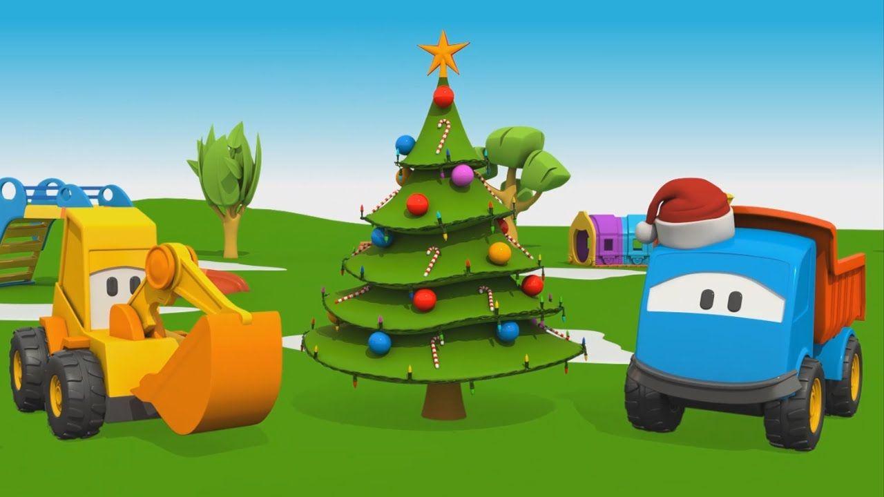 Escavatore bambini ~ Cartoni animati per bambini leo il camion curioso e l albero di