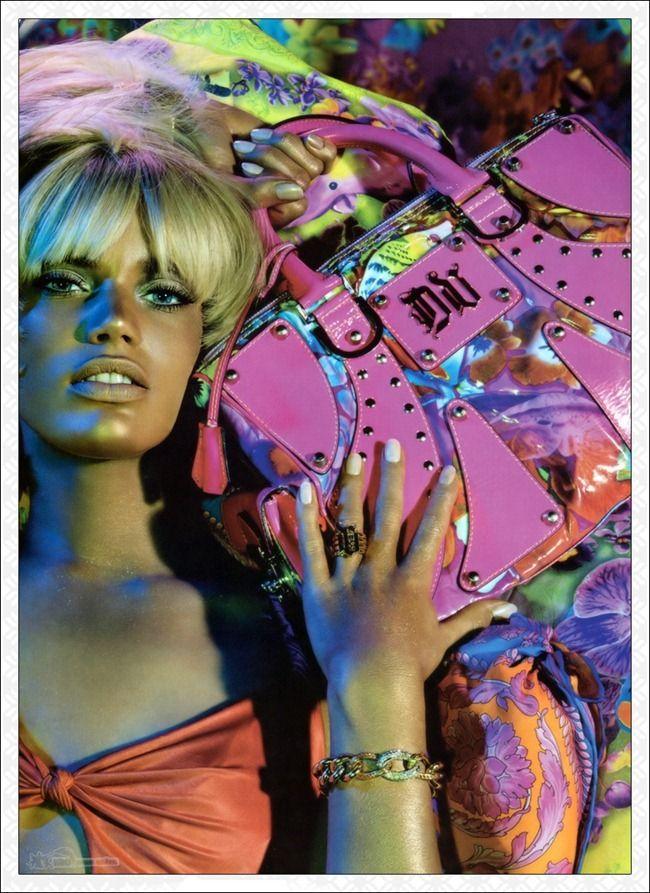 We Versace Rianne Ten Haken For Versace Spring 2004 By
