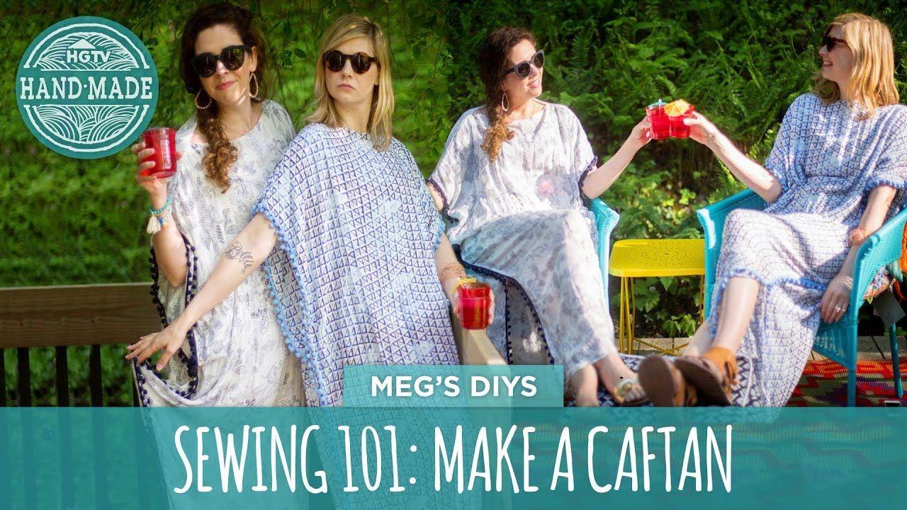 Sewing 101 Make A Caftan Hgtv Handmade Sewing Sewing