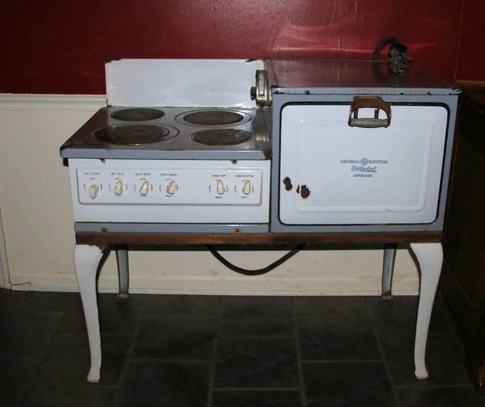 1924 Antique Hotpoint Automatic Electric Stove Oven