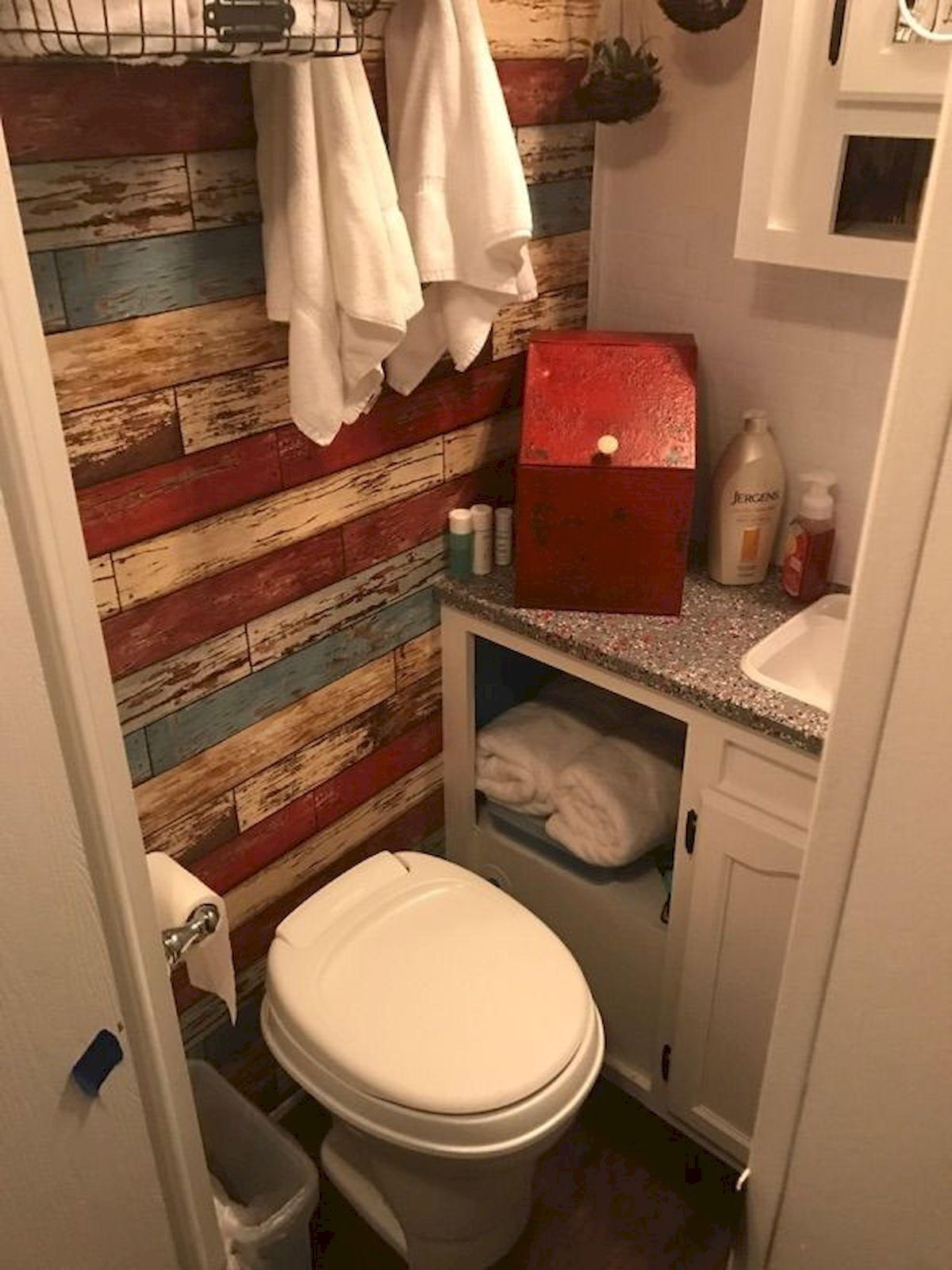 Nice Rv Champers Bathroom Remodel Umgebaute Wohnmobile Bad Renovieren Und Badezimmer Klein