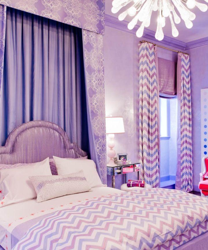 Houzz Com Pretty For Daughter S Room Remodel Bedroom Purple Bedrooms Girl Room