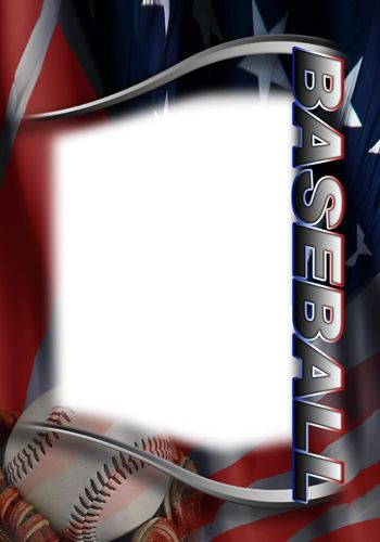 Baseball Photo Templates Baseball Card Template Baseball Cards Card Templates Free