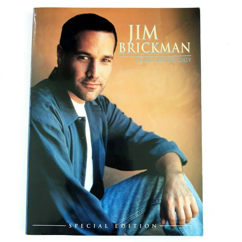 Jim Brickman Piano Anthology Special Edition Piano & Vocal Sheet Music Songbook #vintagesheetmusic
