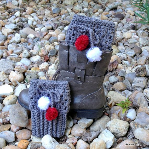 Hey, I found this really awesome Etsy listing at https://www.etsy.com/listing/249955039/alabama-grey-boot-cuffs-with-crimson-and