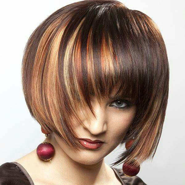 Caramel Color Hair Highlights Brown Hair With Blonde Highlights