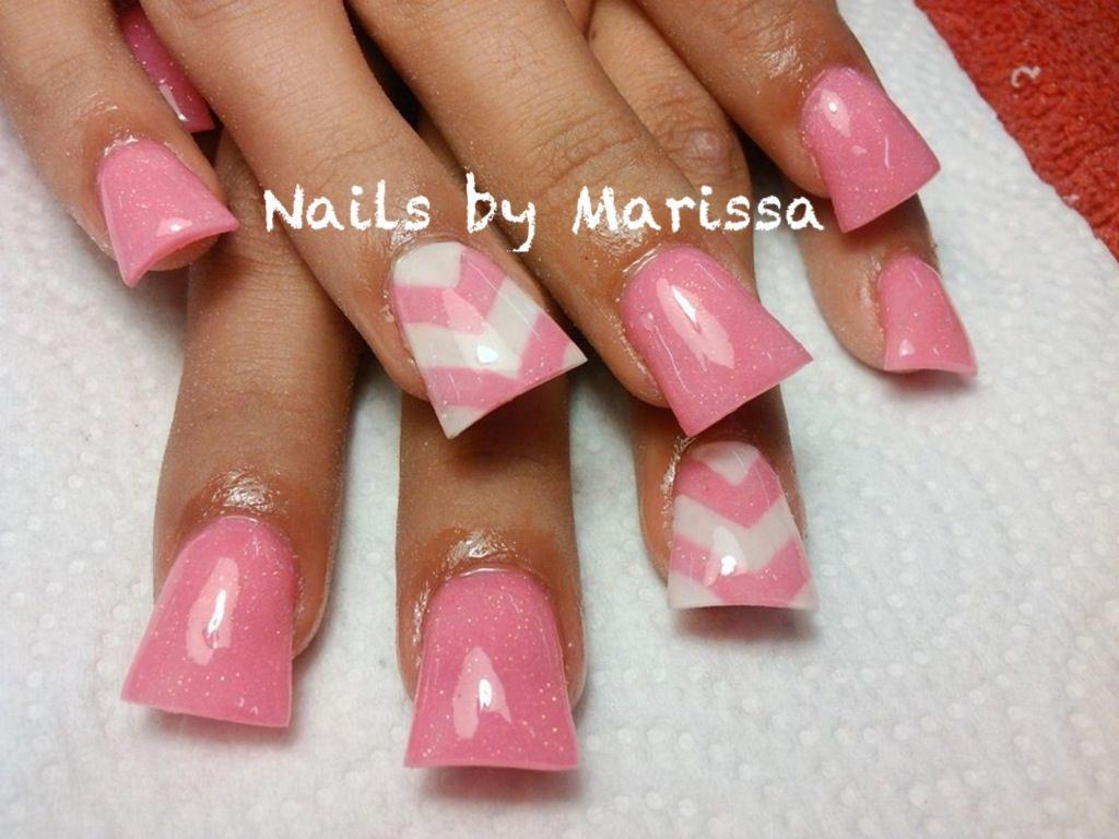 Acrylic nails | Nails by Marissa | Pinterest | Acrylics, Flare ...