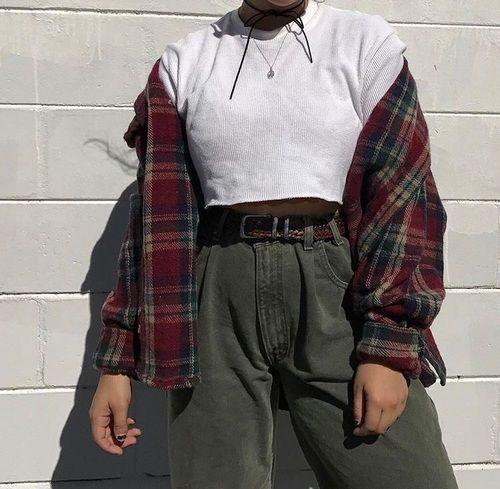 Samye Populyarnye Tegi Etogo Izobrazheniya Vklyuchayut Outfit Grunge Style I Vintage Fashion Aesthetic Clothes 90s Fashion