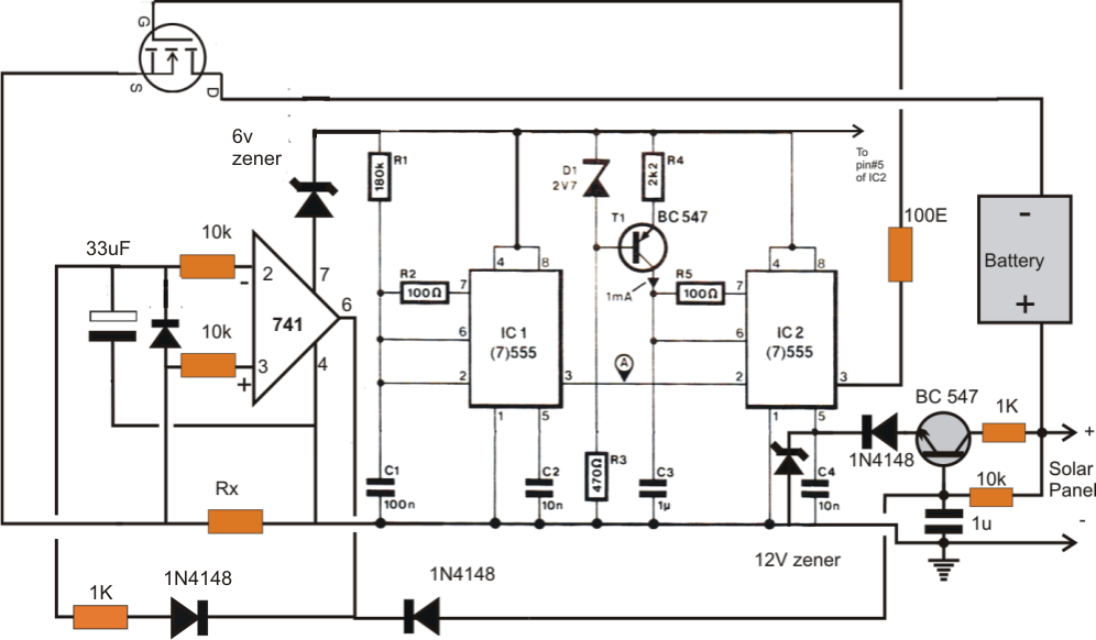 Motor Wiring : Iv Curve Tracker Circuit 1 Inr Wiring