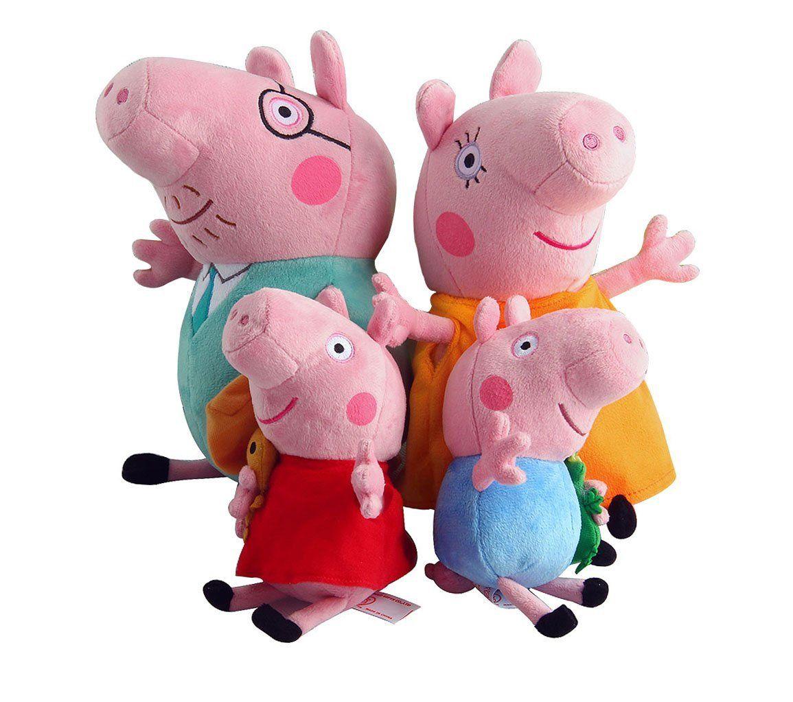 Robot Check Pig Plush Peppa Pig Plush Peppa Pig Toys [ 1023 x 1155 Pixel ]