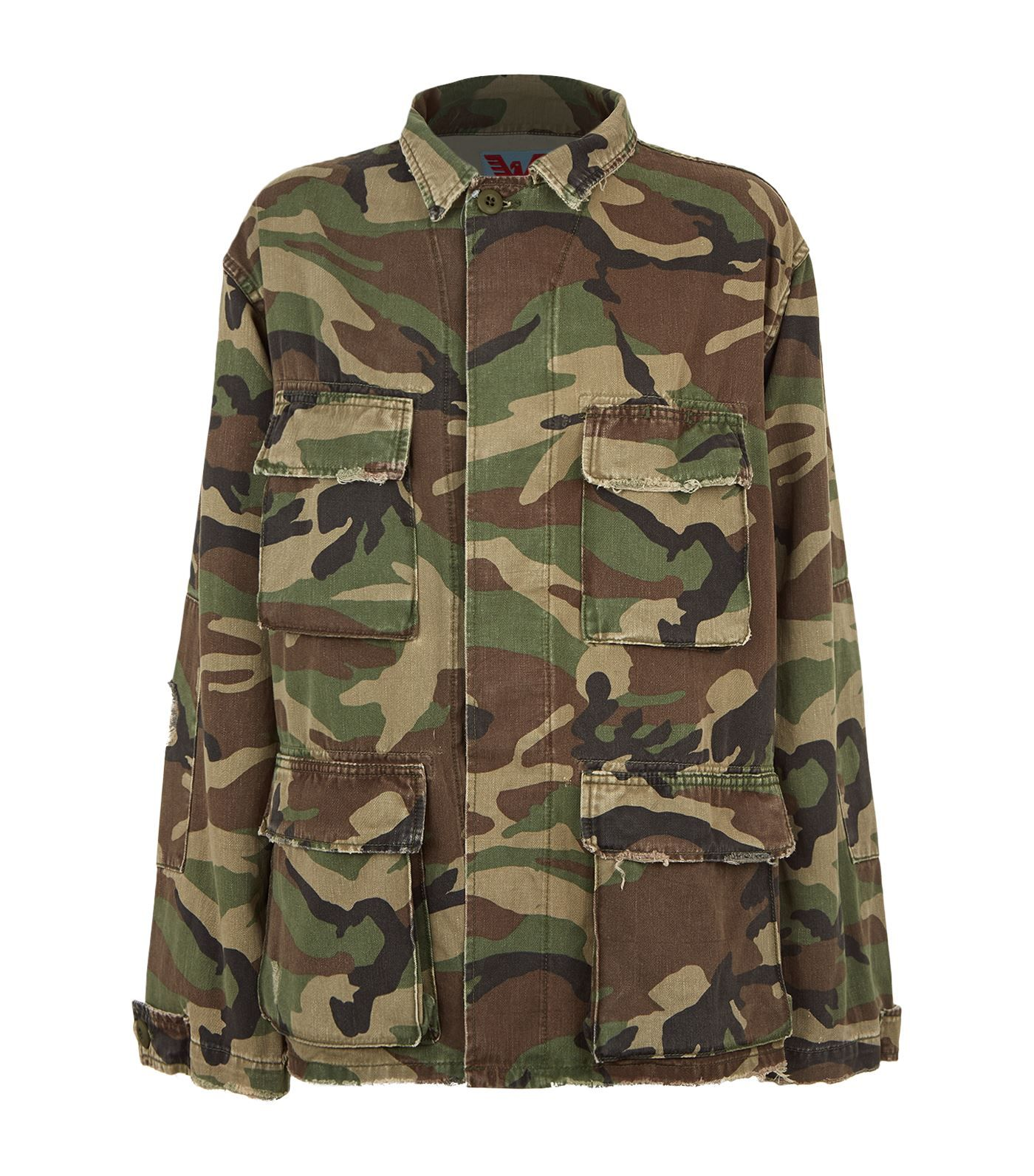 Adaptation Camouflage Army Jacket In Green | ModeSens | Army
