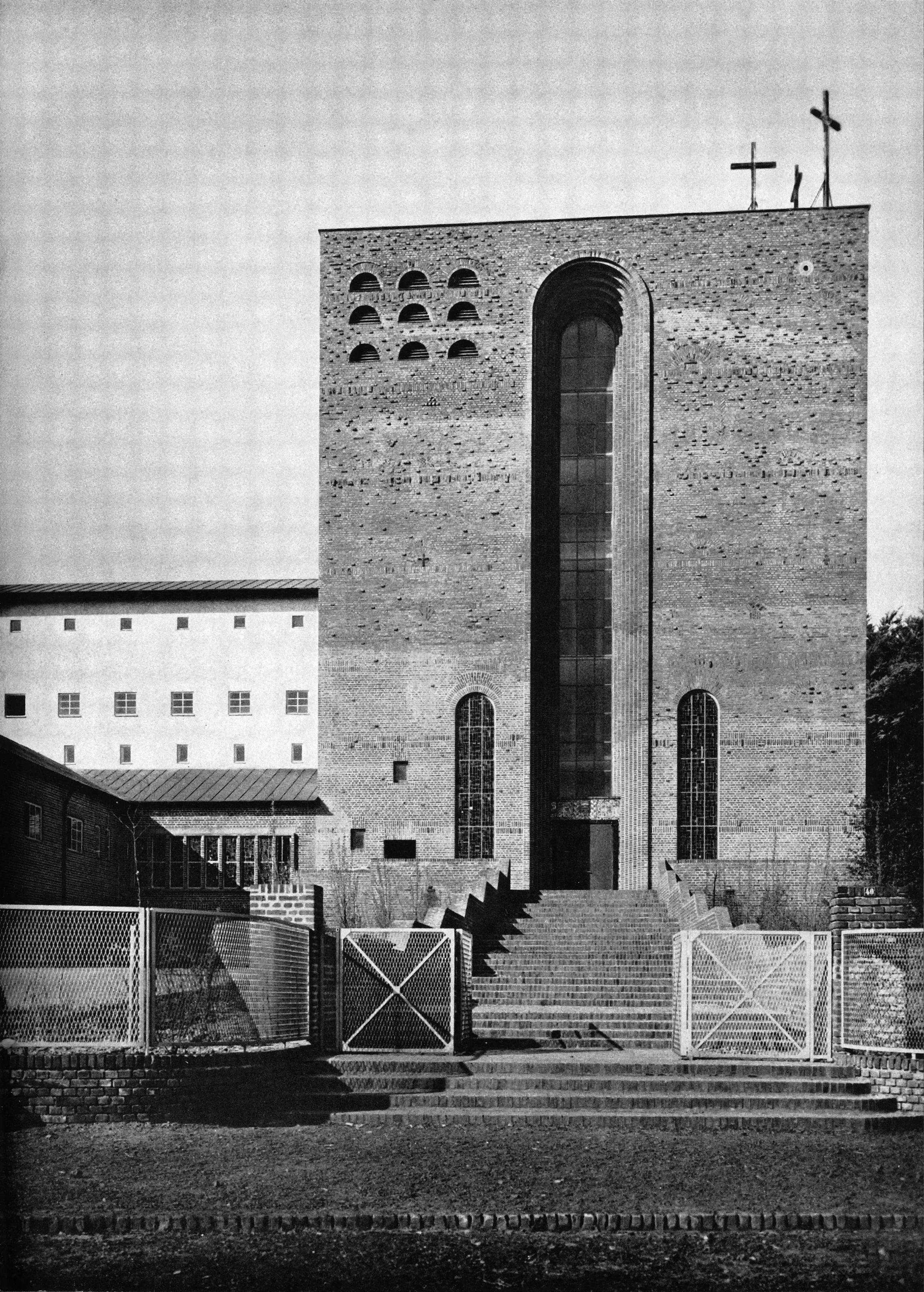 Architekt Mönchengladbach kirche st kamillus in mönchengladbach architekt dominikus böhm