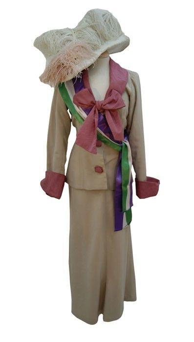 Costume Vittoriano SUFFRAGETTE
