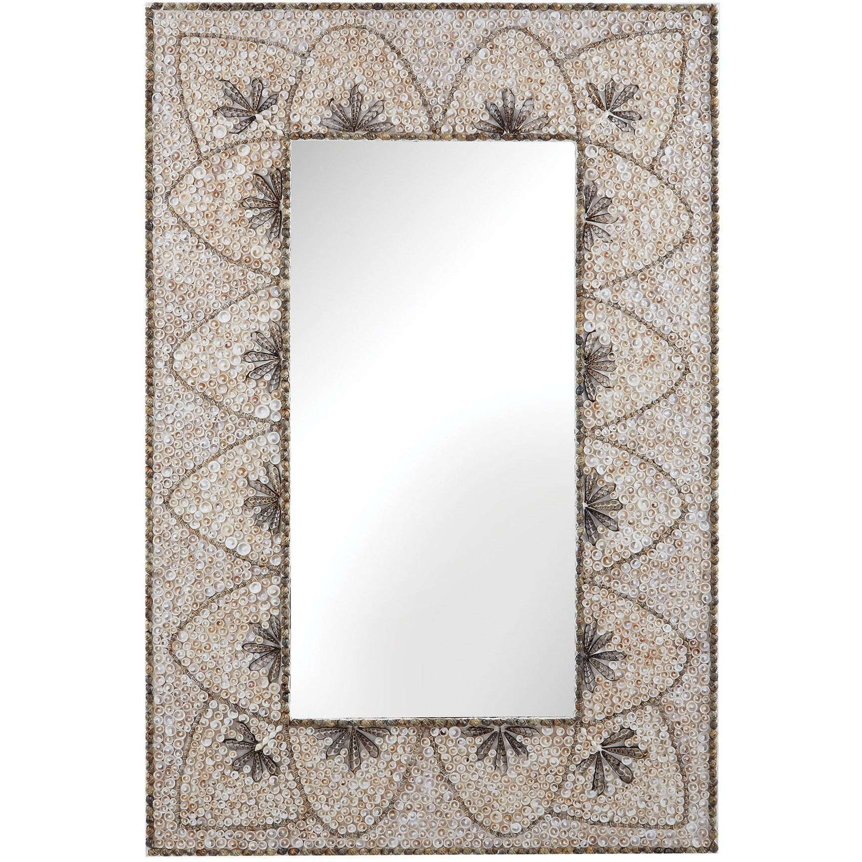 Dimond Home Flower Arc Shell Mirror 163-005