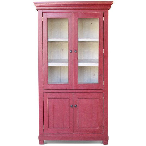 Bookcase Display Cabinet China Cabinet Reclaimed Wood Farmhouse ...