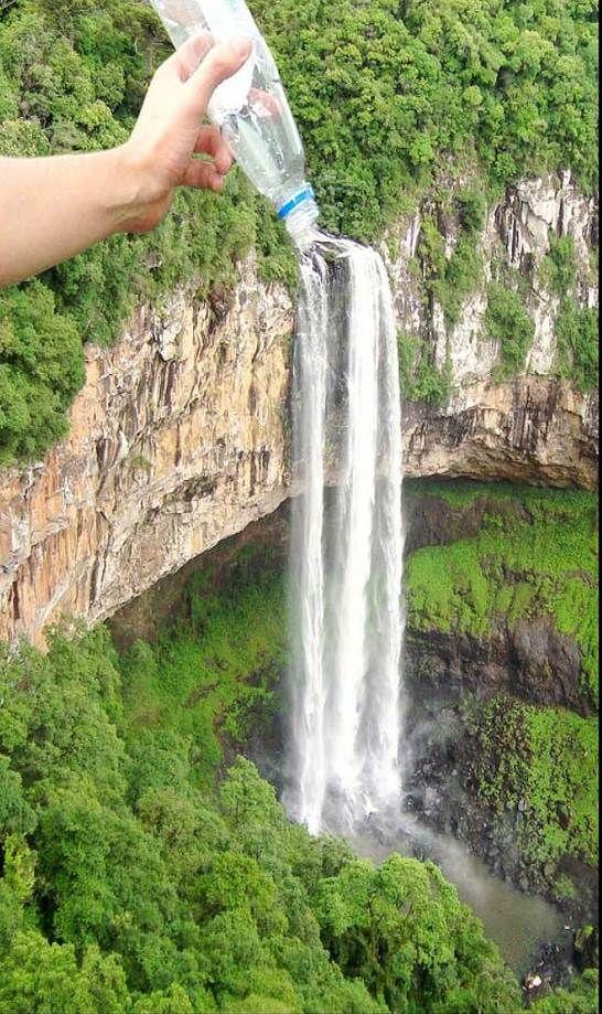 Cachoeira do caracol, linda e maravilhosa