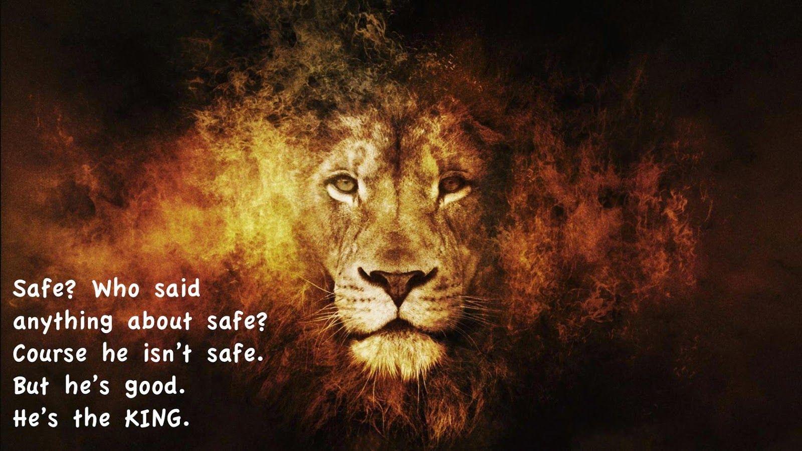 C.S. Lewis, Aslan not a tame lion, Aslan not safe but good | Lion artwork,  Lion hd wallpaper, Lion pictures