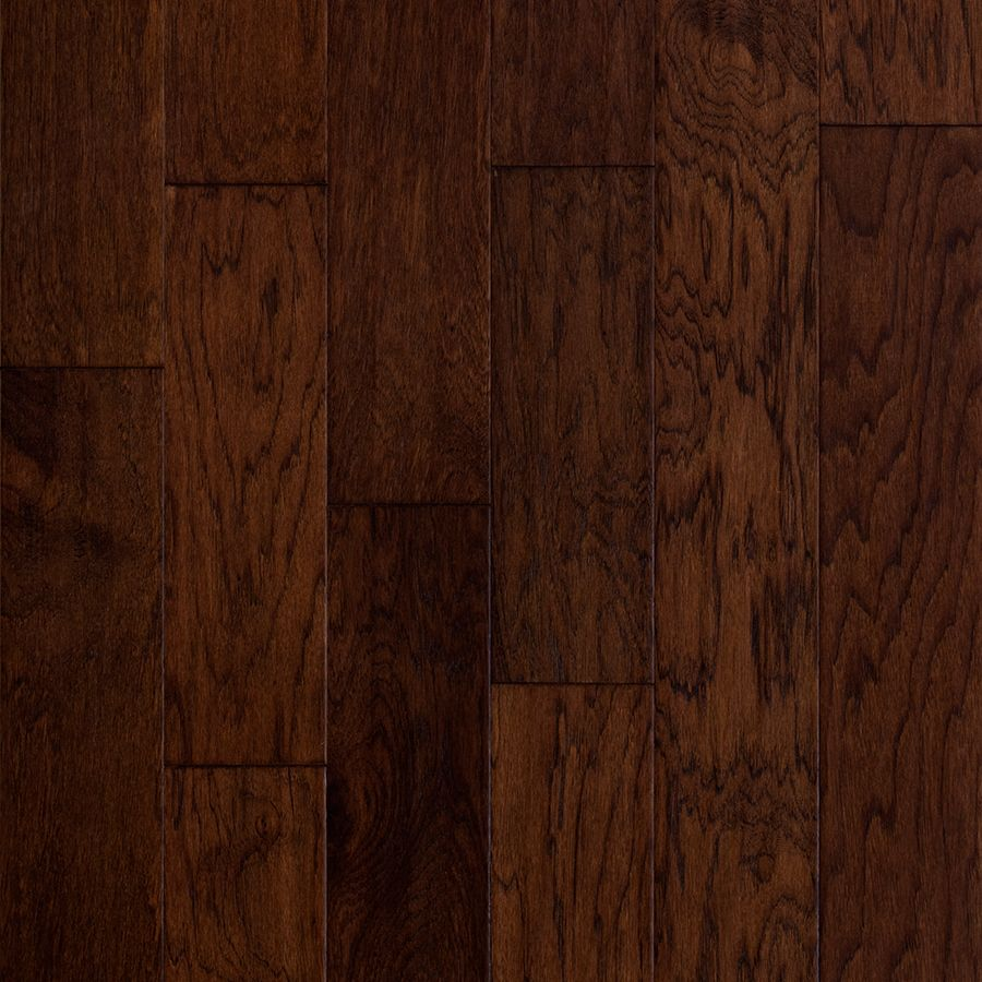 Style Selections 5in Barrel Hickory Handscraped