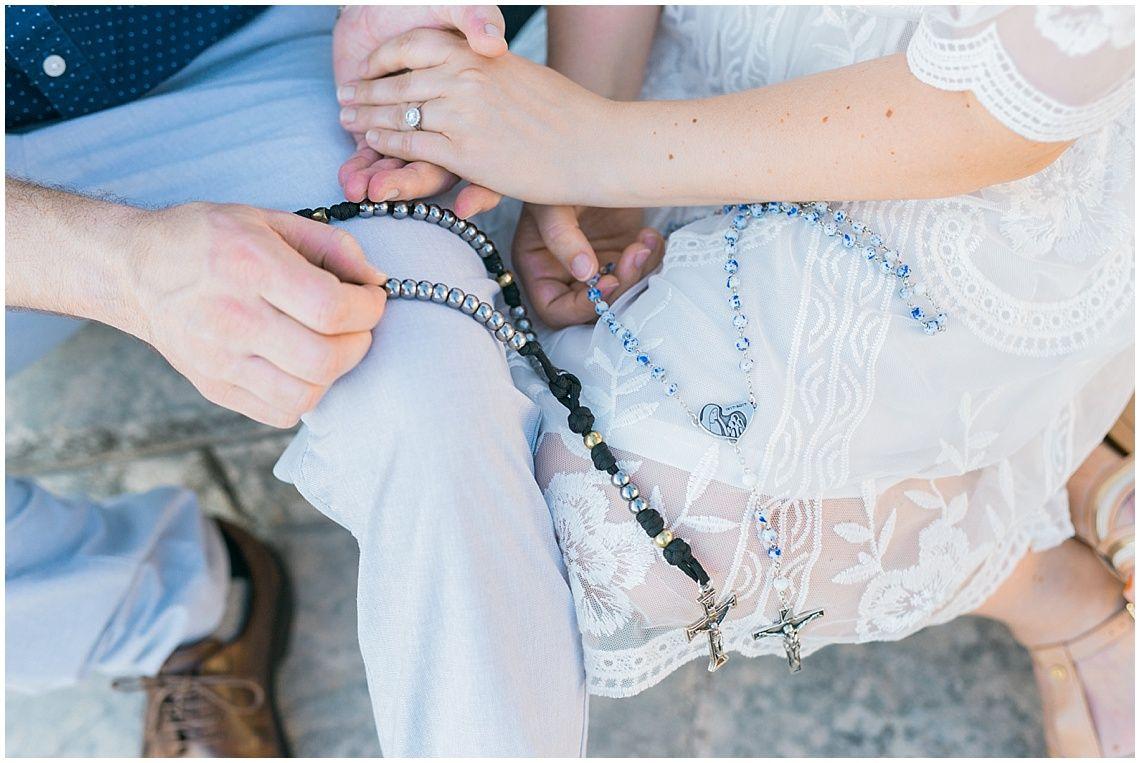 Christine & Brian, Catholic Couple Engagement, Austin, TX