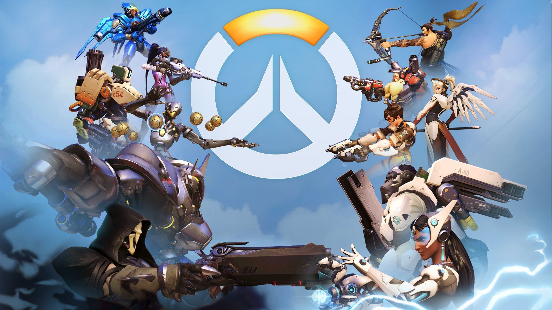 Overwatch Wallpaper Dual Monitor: 1080 X 1920 HD Backgrounds