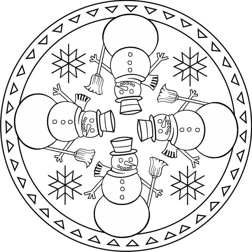 Fotoğraf:   mandala   Pinterest   Mandala, Christmas fun and Color ...