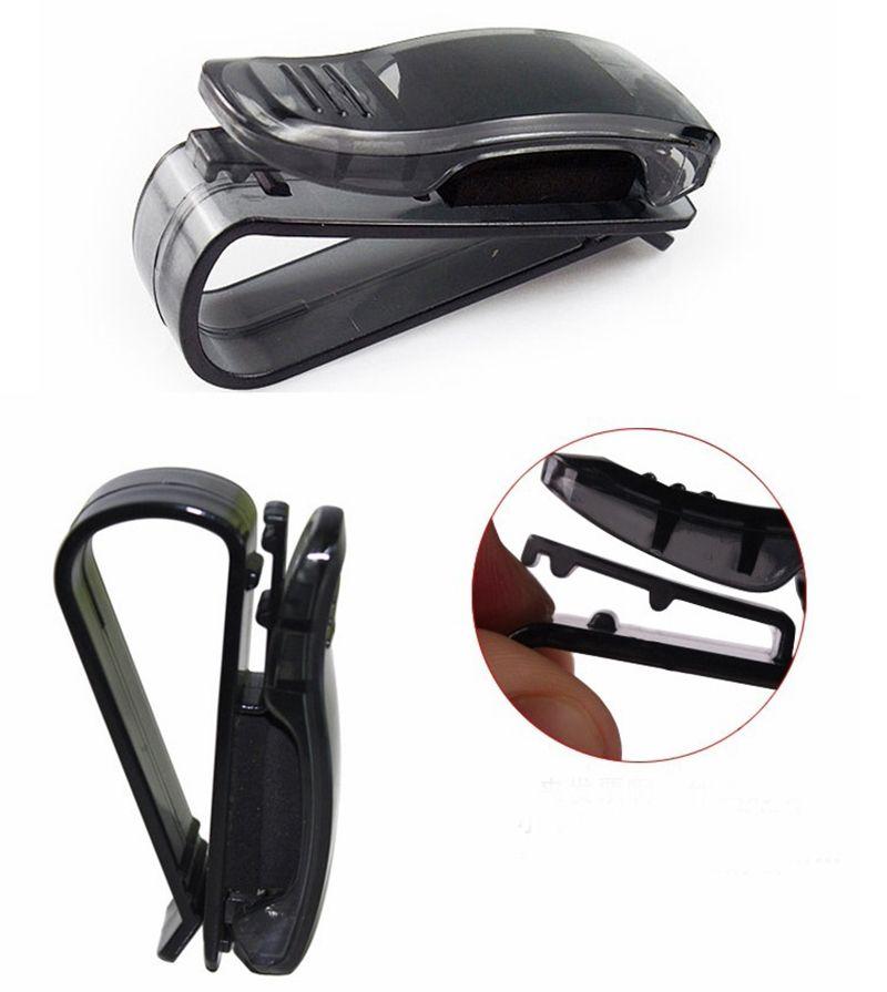 Car Sunglass Clip Fastener Superior Car Organizer Auto Sunshade Visor Storage Holder Glasses Card Ticket Clips Con Imagenes Organizadores De Coches Coches Parasol