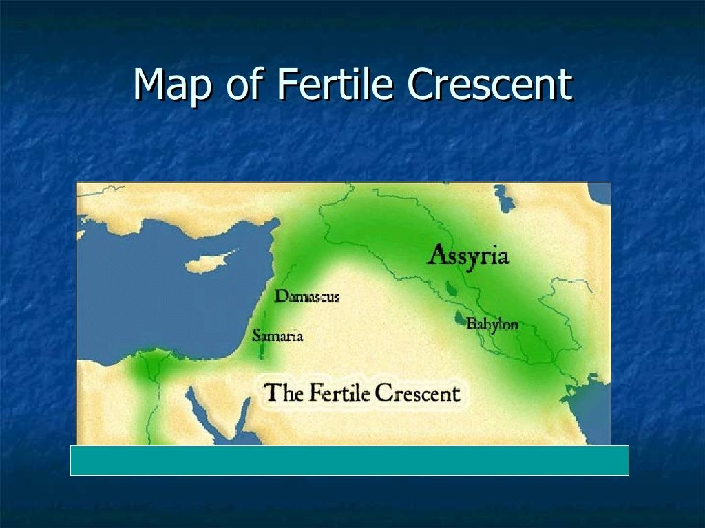 Lesson 1 Fertile Crescent