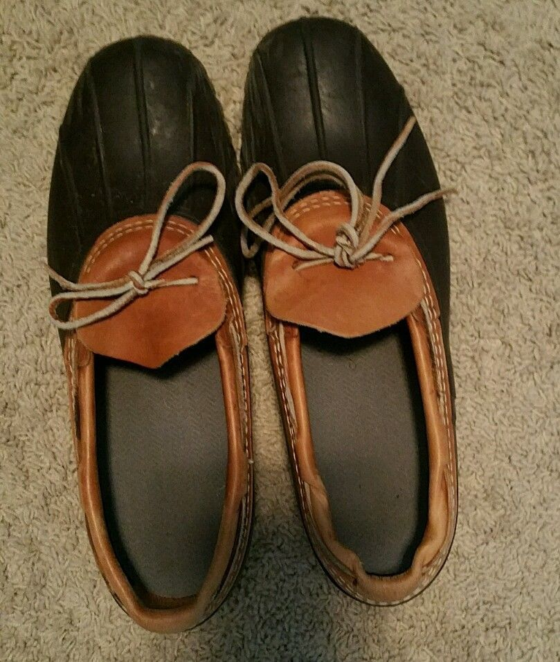 LL Bean Rubber Mocs Duck Boots in Clothing, Shoes & Accessories ...