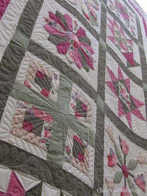 Nice quilting and colors