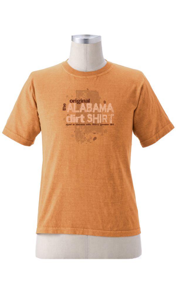 Alabama Dirt Shirt Organic Cotton Clothing Shirts Usa Fashion