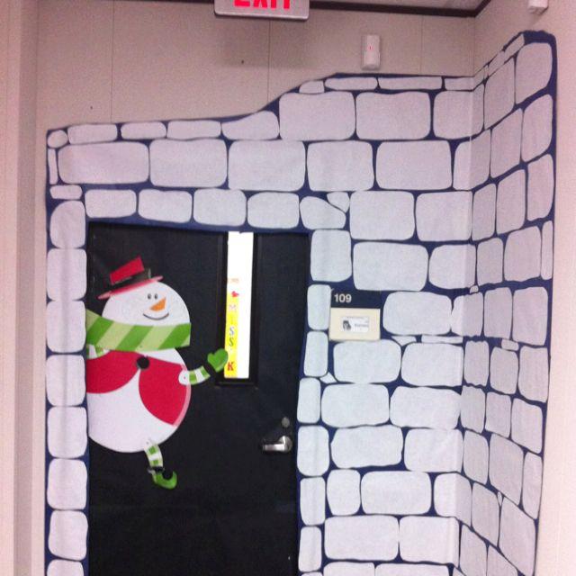 Igloo To The Classroom Decorative Classroom Doors