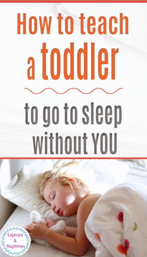 How to get your toddler to sleep independently in 4 easy ...