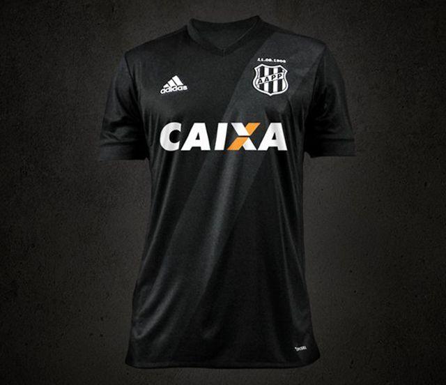 Camisa 2 adidas do Ponte Preta 2017-18  a515d5290eb37