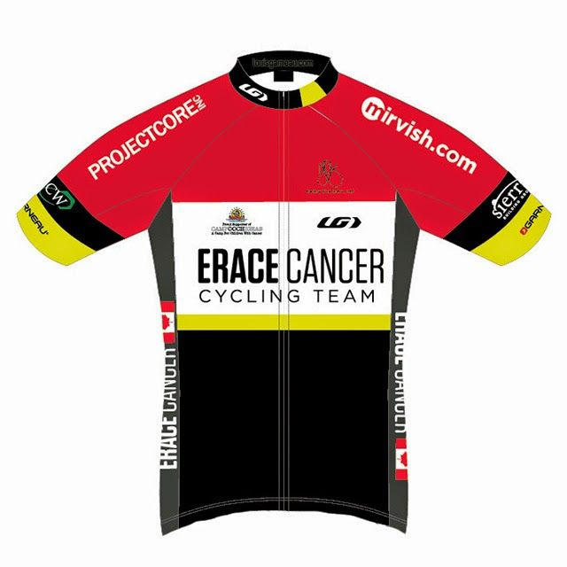 Erace Cancer Cycling Team and Club 2015