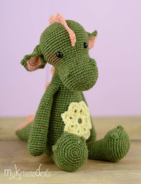 Crochet Pattern - Dragon Julia | Crochet ❤ | Pinterest | Halbes ...