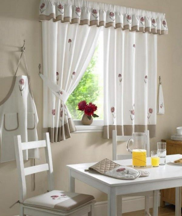 Curtains for windoe in the kitchen - Cortina para ventana en la ...