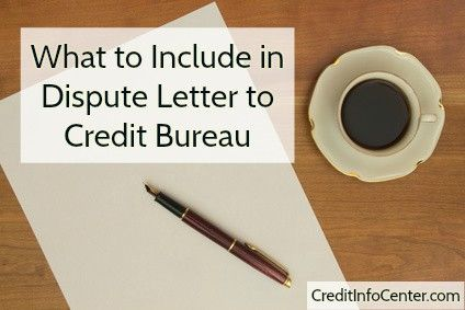 Inaccuracy On Credit Report What To Include In Dispute Letter To