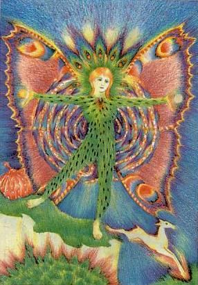 The Fool Greenwood Tarot Tarot The Fool Card Art Tarot Art