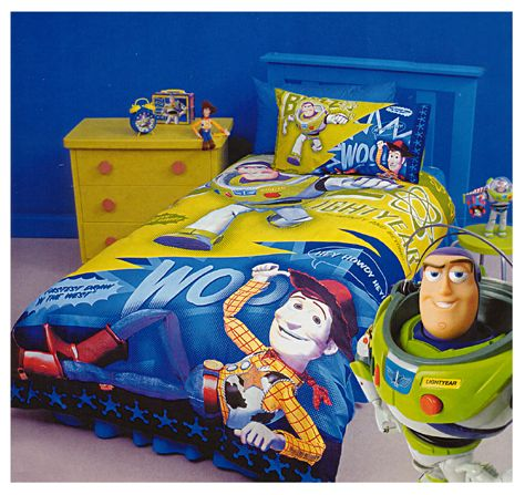Buzz and Woody Quilt Cover Set. Toy Story bedding in photoreal ... : toy story quilt cover set - Adamdwight.com