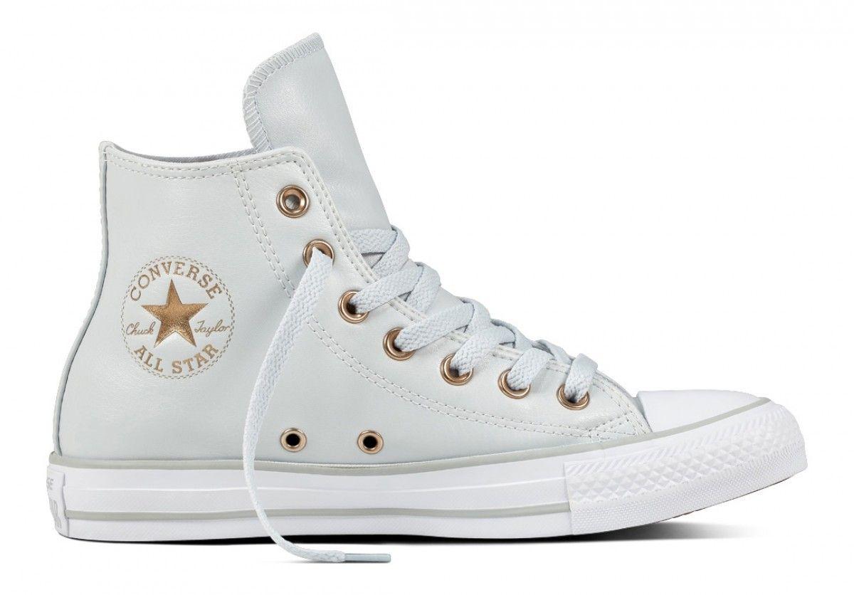 e297a30f1d13 Converse Chuck Taylor All Star Women s Hi Top Pure Platinum White Mouse