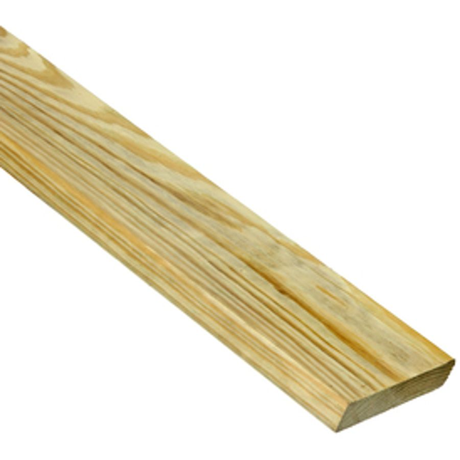 Severe Weather Common 5 4 In X 6 In X 12 Ft Actual 1 In X 5 5 In X 12 Ft Standard Lowes Com Pressure Treated Deck Boards Severe Weather Deck Boards